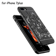 Brand New For Iphone 7plus Cases High-quality Ultra-thin Silicon Phone Shell 3D Carved Dragon Protective Cover Case On IPhone 7p