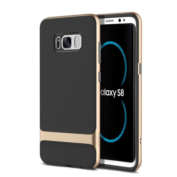 Buluby Phone Case For Samsung Galaxy S8 Plus Coque Full Protective Shell Shockproof Fundas Luxury Back Cover For Galaxy S8 Shell