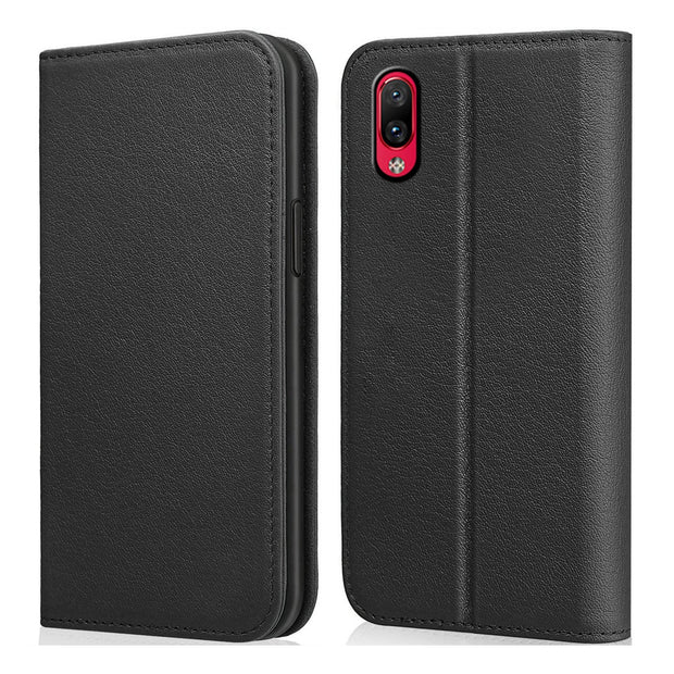 CASEWIN Mobile Phone Case For Vivo NEX S Case Pure Color Flip Case Wallet Case With Magnetic Phone Holder & Card Pocket