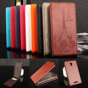 Card Holder Coque PTU Silicone Leather Case For Lenovo A5000 Flip Cover For Lenovo A5000 Wallet Covers Phone Cellphone Cases