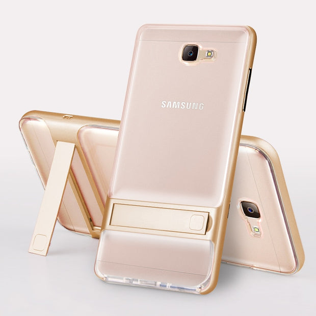 Case For Samsung Galaxy J5 Prime On5 2016, PC +TPU Ultra-thin Luxury Back Cover For Samsung Galaxy J7 Prime On7 2016 Phone Shell