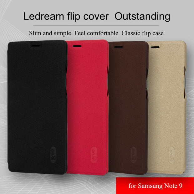 Case For Samsung Note 9 Cover Lenuo Soft Flip Leather Case Cover For Samsung Note 9 Note9 Phone Bag Wallet Cover