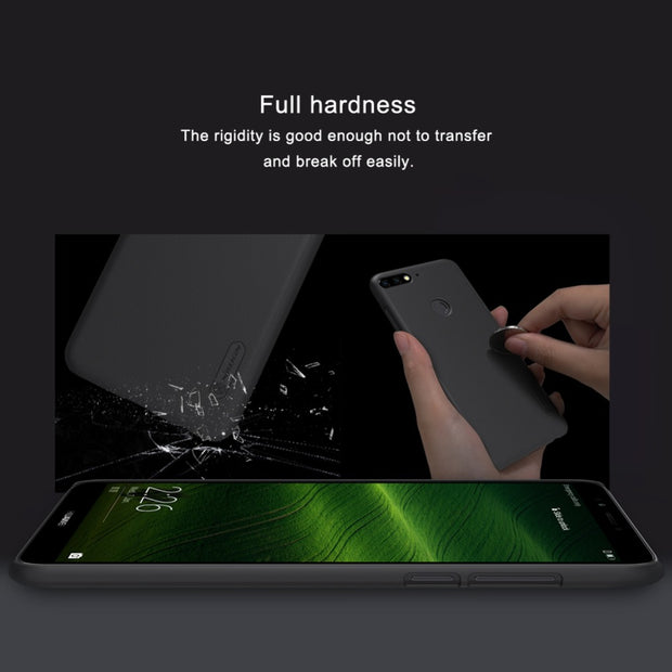 Case For Huawei Y7 Prime 2018 Nillkin Super Frosted Shield Hard Back Cover Case For Enjoy 8