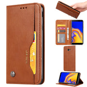 Case SFor Samsung Galaxy J4 J6 Plus 2018 Case Luxury Flip Leather Wallet Cover For Samsung Galaxy J6 J4 Plus 2018 Case Cover