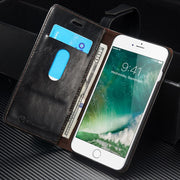 CaseMe Original Brand Leather Phone Cases For Apple Iphone 7 Plus Case Iphone 7 / 7Plus Case Coque Card Wallet Protective Cover