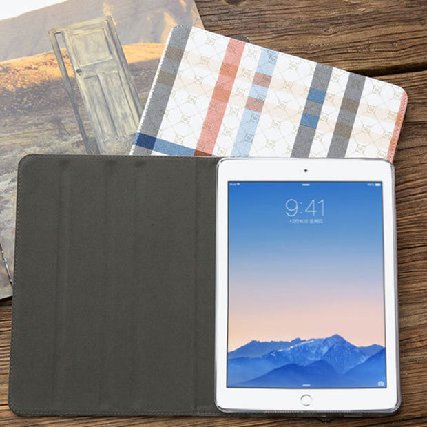 Cases For Apple Pad 2 3 4 Case Auto Sleep Wake Up Flip PU Leather Cover Smart Stand Holder Folio Case For Pad2 Pad3 Pad4