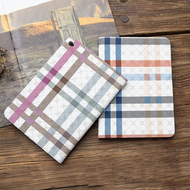 Cases For Apple Pad Air 2 Case Auto Sleep Wake Up Flip PU Leather Cover Smart Stand Holder Folio Case For Pad 6