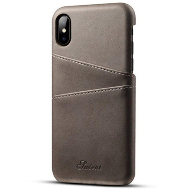 Convenience Phone Case For IPhone 6/6s Leather Case For IPhone 7/7plus Cases Card Function Phone Shell For IPhone 8/6plus Case