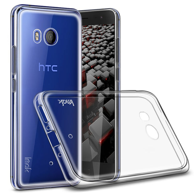 Coque For HTC U11 Case HTC Ocean U11 Crystal Case Silicon IMAK Original Cover Durable Clear Phone Case For HTC U 11 Back Cover