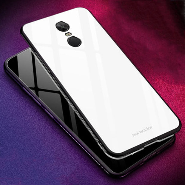 Coque For Xiaomi Redmi Note 4X Case Gradient Tempered Glass + Soft Edge Cover For Redmi Note 4 X Dream Glass Cases Note4x Shell