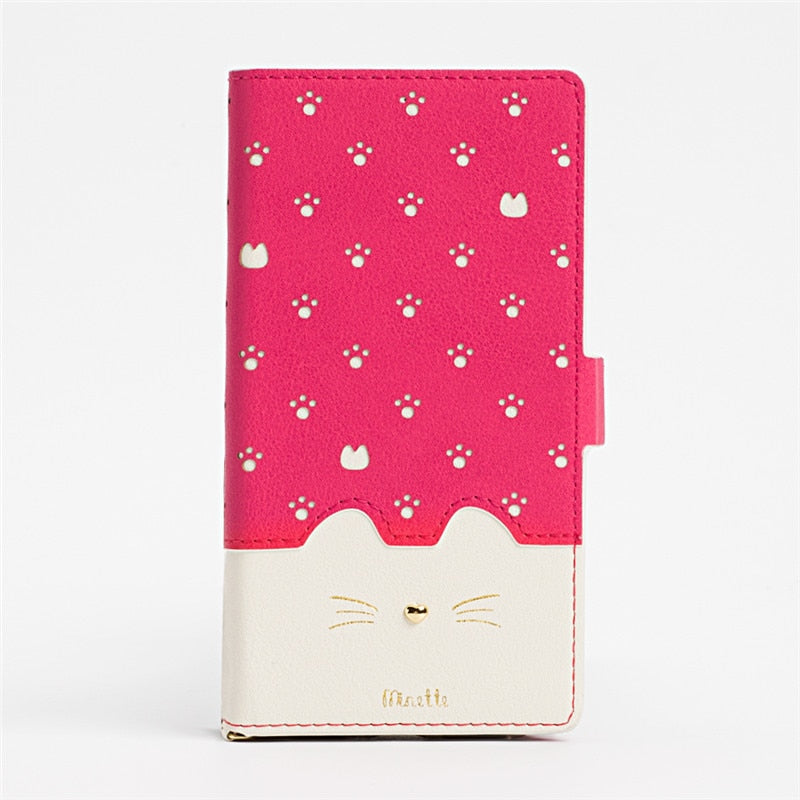 Wallet Case Cute Red iPhone 7 8 Plus