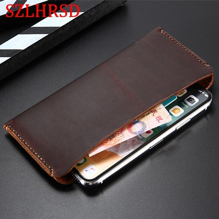 FOR HUAWEI Y6 PRO 2019 Genuine Leather Wallet Case For HUAWEI Y7 PRIME 2019  Y7 2019 Pouch Cases Bag FOR HUAWEI NOVA LITE 3