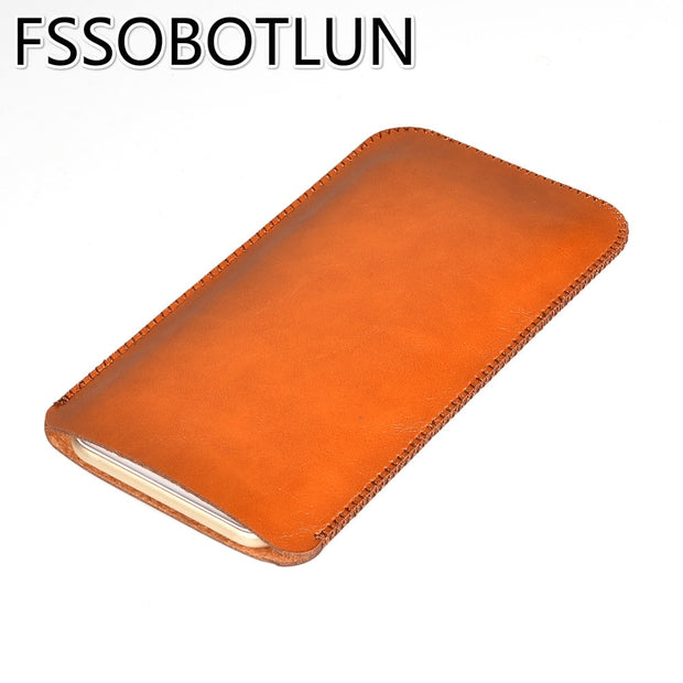 FSSOBOTLUN Best Quality For DOOGEE MIX 2 MIX2 Case Luxury Microfiber Leather Sleeve Pouch Phone Bag Cover Holster