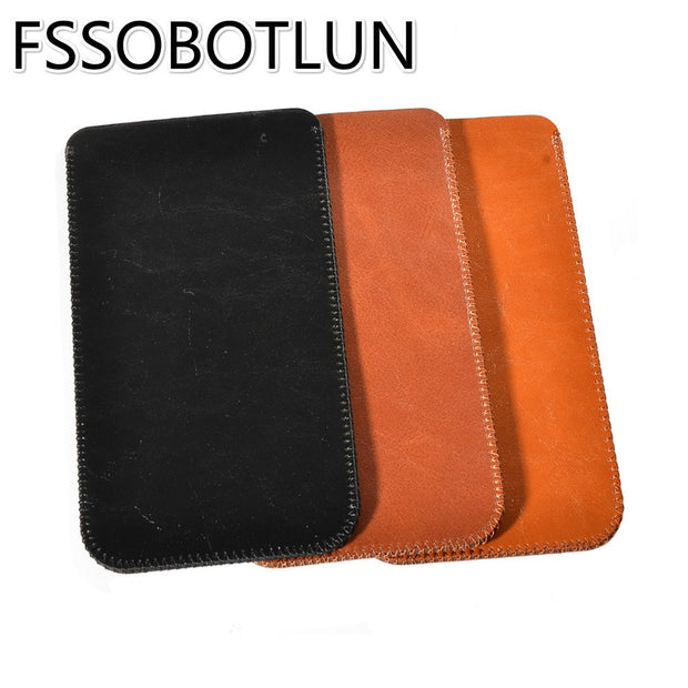 FSSOBOTLUN Best Quality For Oukitel C8 Case 2017 Luxury Microfiber Leather Sleeve Pouch Phone Bag Cover