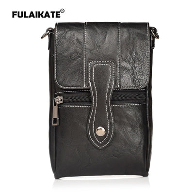 "FULAIKATE 6.3"" Contrast Color Bag For Samsung Galaxy MEGA Case Waist Pouch For Note5 Note8 N4 Universal Shoulder Portable Pocket"