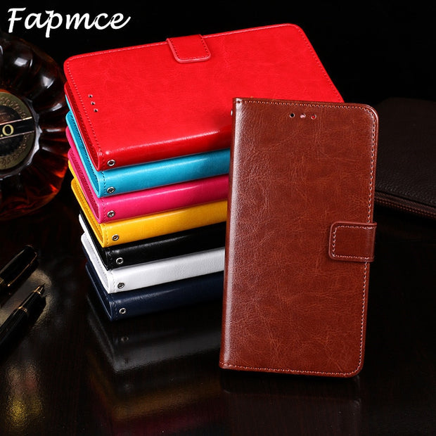 Fashion Genuine Leather Phone Cover For Oukitel U15 Pro Case Flip Magnetic Card Slots For Oukitel U15 Pro Cover Flip Wallet