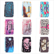 Fashion Luxury Relief Leather Wallet Phone Case For Samsung Galaxy Grand Prime G530 G530H Flip Stand Case With Card Holder