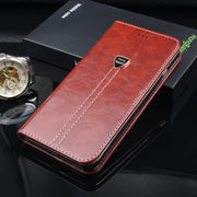 Flip Cases For Vernee Mix 2 Wallet Case Luxury Leather Phone Bag Case Coque Vernee Mix 2 Protective Stand Book Cover Shell Band
