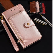 Flip Leather Wallet Case For Samsung Galaxy A6S Wallet Flip Back Cover For Samsung Galaxy A6s Case With Card Slot