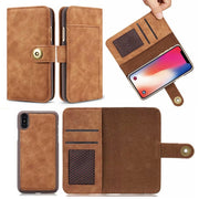 Flip Phone Case For Iphone XR For Iphone XS MAX Case Multifunctional Wallet Leather Magnet Back For Iphone X 8 7 6 6S Plus Case