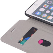 For Apple IPhone 7 Case Litchi Leather & Silicone Flip Cover IPhone 7 Plus Case With Stand Wallet Coque For IPhone7 Plus 7Plus