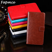 For Blackview A7 Pro Book Stand Case For Blackview A7Pro Phone Bag Shell 5.0 Inch Crazy Horse Wallet Flip PU Leather Cases Cover