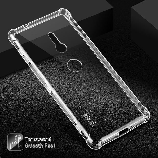 For Funda Sony Xperia XZ2 Compact Case IMKA Crystal Clear Armor Shockproof Case For Sony XZ2 Cases Coque Sony Xperia XZ2 Cover