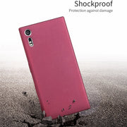 For Fundas Sony Xperia XZ Dual F8332 TPU Soft Case X-Level Matte Plain Case Luxury Back Cover For Coque Sony XZs Dual G8231