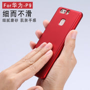 For Huawei P10 P 10 Case 360 Degree All-inclusive Ultra-Thin PC+Frosted Hard Shell Shockproof Case For Huawei P10 Plus P10plus