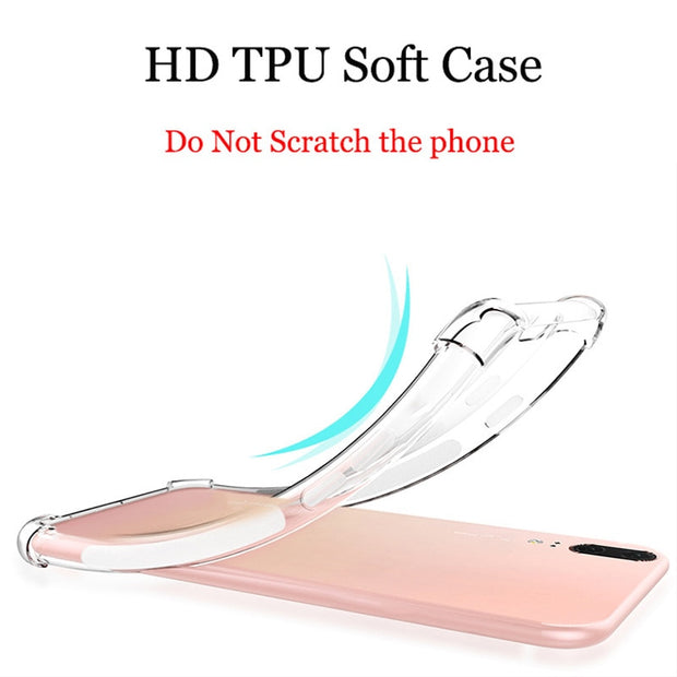 For Huawei P20 Case Cover For Huawei P 20 Phone Cases P20pro Transparent Soft TPU Back Cover Cases For Huawei P20 Pro Case