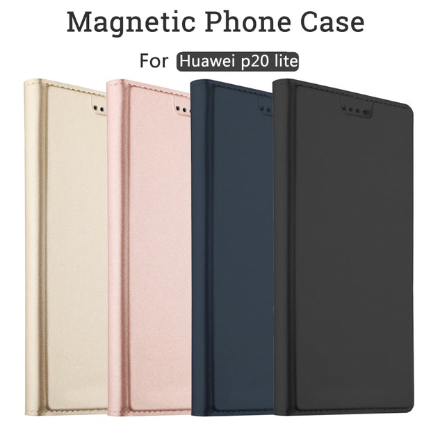 For Huawei P20 Lite Case Flip Cases For Huawei P20 Lite Magnetic Case Stand Cover Wallet Case For Huawei P20 Lite/nova 3E