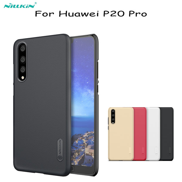 For Huawei P20 Pro Case NILLKIN Super Frosted PC Hard Shield Back Cover For Huawei P20 Pro Cover Phone Bags