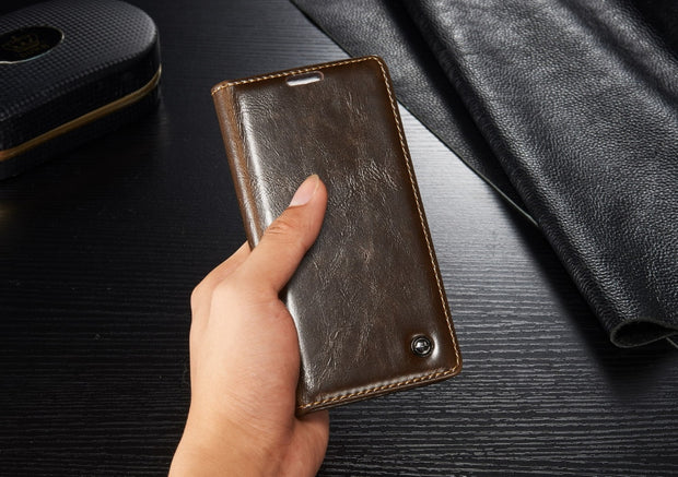 For Huawei P8 Lite Case Luxury Leather Flip Magnet Wallet Cover For Huawei Ascend P8 Lite Cover 5inch Coque Mobile Phone Case