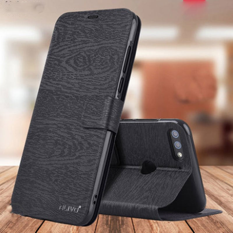 For Huawei Y7 Prime 2018 Case Y 7 2018 Cover PU Leather Book Flip Wallet  Phone Case For Huawei Y7 2018 Prime Card Holder Fundas