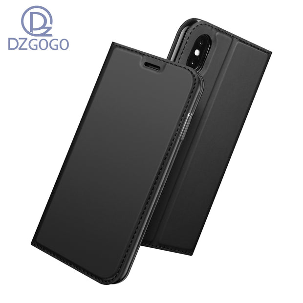 For IPhone XS Max Case Magnetic Phone Case For IPhone XS Max Cover Flip Leather Stand Case For Apple IPhone XS Max 6.5''