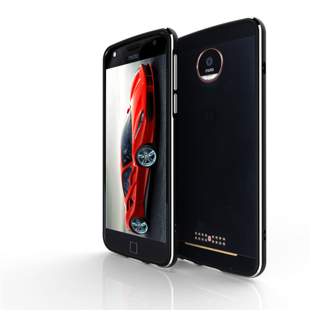 For Motorola Moto Z2 Play XT1710 Bumper Luxury Metal Aluminum Bumper Frame Case Cover For Motorola Moto Z2 Play XT1710 Cover