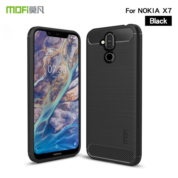 For Nokia X7 Case Cover MOFI Fitted TPU Cases For Nokia X7 High Quality Soft TPU Back Cover For Nokia X7