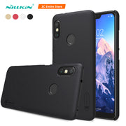 For Redmi 6 Pro Case Nillkin 5.84'' Frosted Pc Hard Back Cover With Gift Phone Holder For Xiaomi Redmi 6 Pro Case For Mi A2 Lite