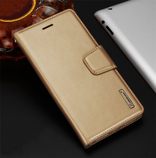 For S7 S7 Edge Magnetic Buckle PU Leather Wallet Case For Samsung Galaxy S7 G930F S7 Edge G935F Flip Cover Card Holder