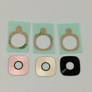 For Samsung Galaxy C9 Pro C9000 10Pcs/lot Back Rear Camera Lens Glass Cover Ring With Adhesive Sticker Tape Parts