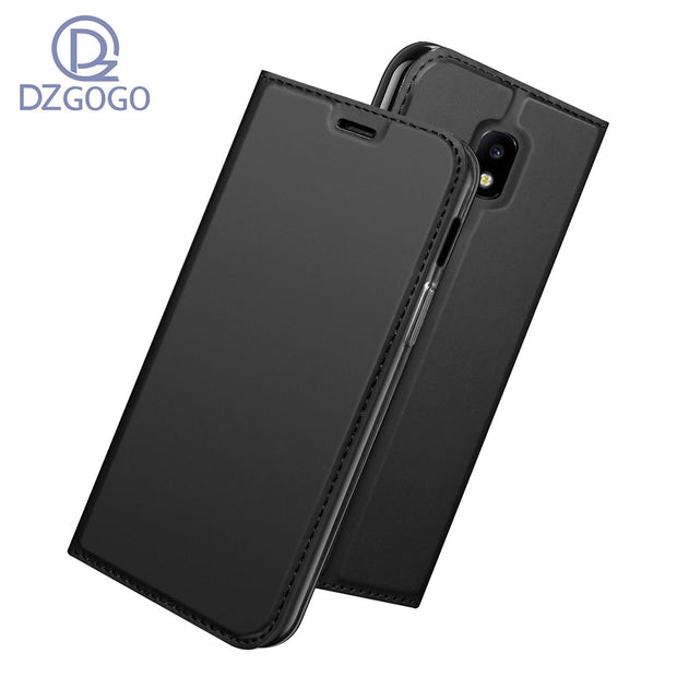 For Samsung Galaxy J3 2017 J330F Case Magnetic Phone Case For Samsung Galaxy J3 2017 Cover Flip Leather Stand Case 5.0''