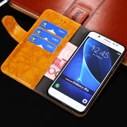 For Samsung Galaxy J5 2017 J530 Case Original Wallet Flip Style Leather Case For Galaxy J5 2017 J530F J530 Eurasia Edition