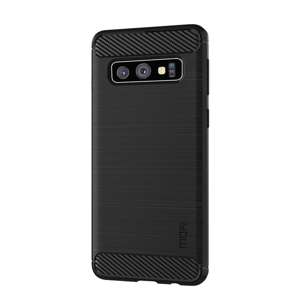 For Samsung Galaxy S10 Case Cover MOFI Fitted TPU Cases For Samsung Galaxy S10 Soft TPU Back Phone Cover For Samsung Galaxy S10