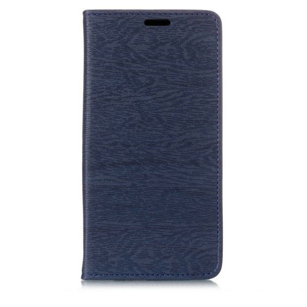 For Sony XA2 Ultra Case Auto-absorbed Wood Pattern Stand Leather Phone Cover Case Accessory For Sony Xperia XA2 Ultra 6.0 Inch
