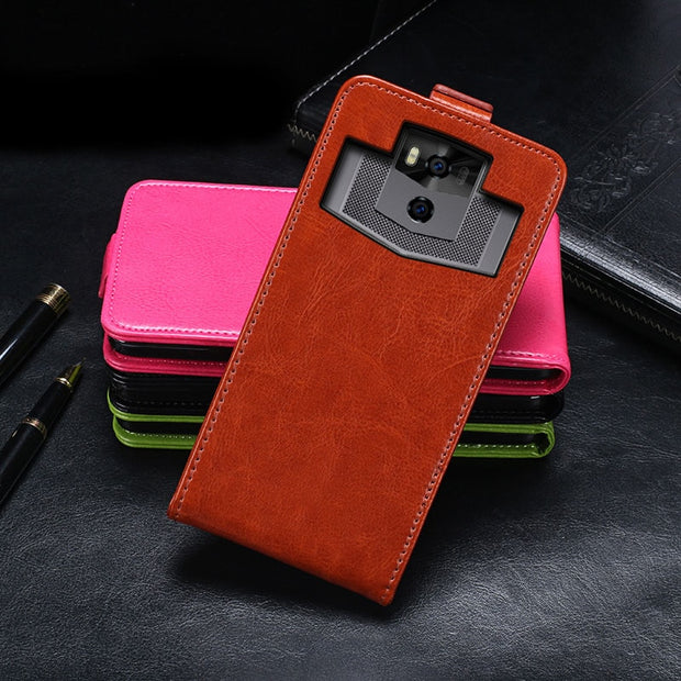 For Ulefone Power 5s Universe Case Luxury Magnetic Flip PU Leather Case For Ulefone Power 5 Vertical Phone Bags Case