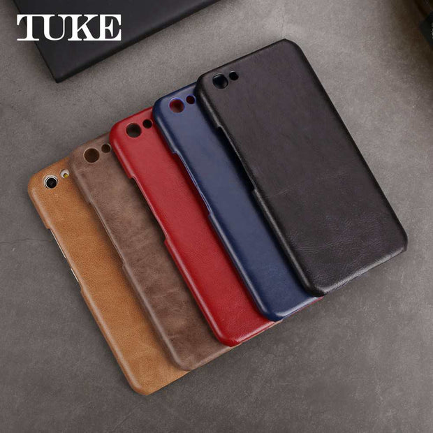 For Vivo X9S Plus Matte Shell For Vivo X9SPlus Case Cover Luxury Genuine Leather Phone Bags & Cases For Vivo X9S Plus Hard Cover