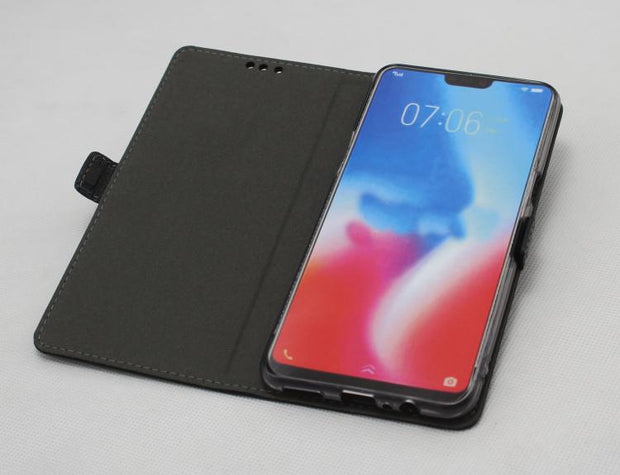 For Xiaomi MI 8 Lite Case Genuine Leather Shockproof Back Cover Flip Case For Xiaomi MI8 Lite PHONE Protective Phone Cover