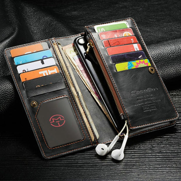 For Xiaomi Max 2s CaseMe Leather Flip Phone Case For Xiaomi Max2s Leather Wallet Card Slots Stand Cover For Xiaomi Max 2s