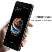 For Xiaomi Mi 5X Case IMAK Wear Resistant PRO Transparent Crystal Hard Phone Case For Xiaomi Mi5X Cover Case