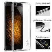 For Xiaomi Mi 6 Case IMAK Wear Resistant PRO Transparent Crystal Hard Phone Case For Xiaomi Mi6 Cover Case